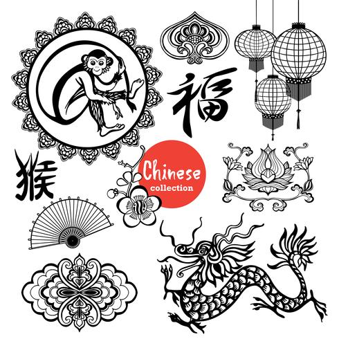 Chinese Design Elements vector