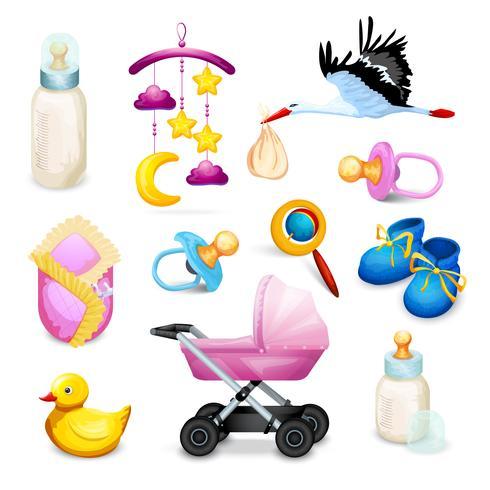 Baby shower ikoner