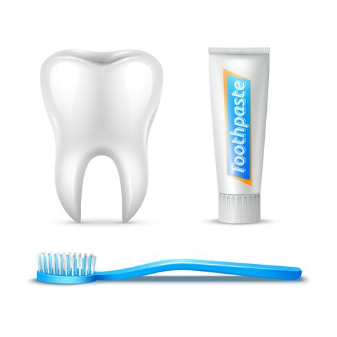 Zahnbürste und Paste
