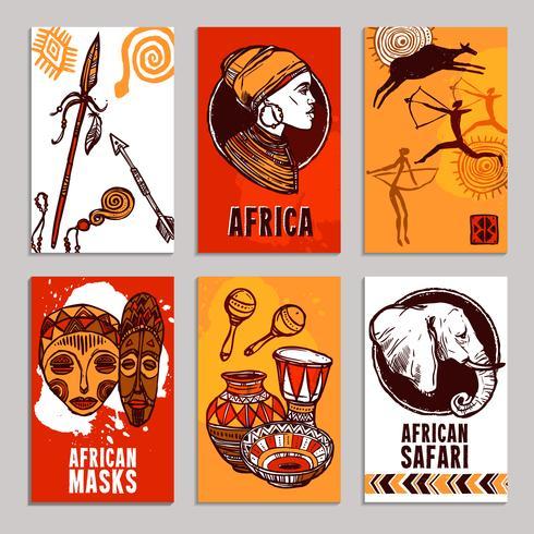 Afrika Poster Set