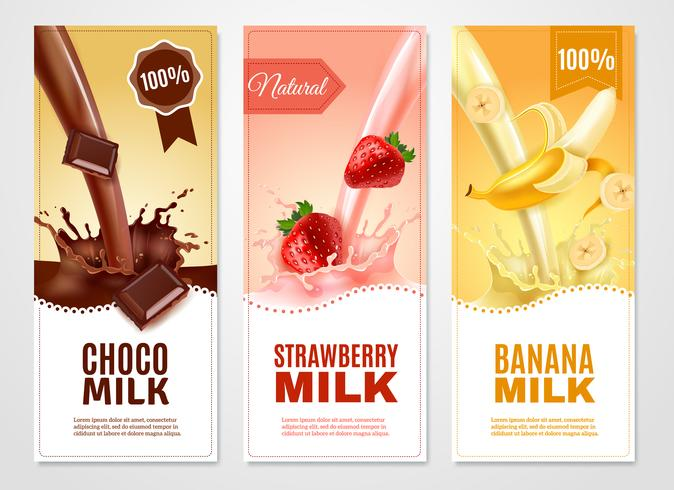 Sweet Milk Banners Set
