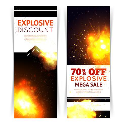Banners de Venda de Explosão