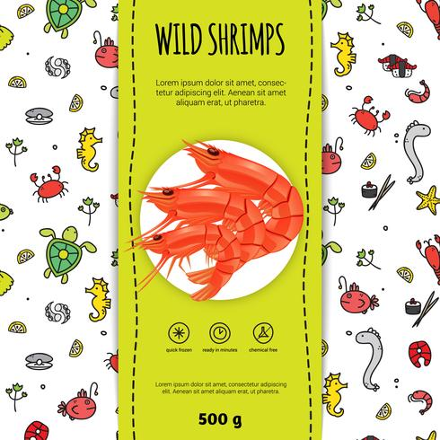 Seafood Packaging Design