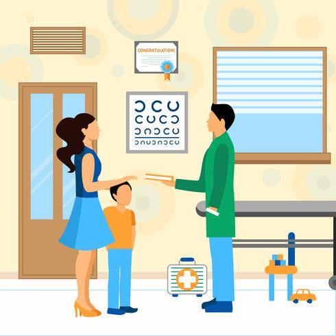 Child Doctor Pediatra Illustration