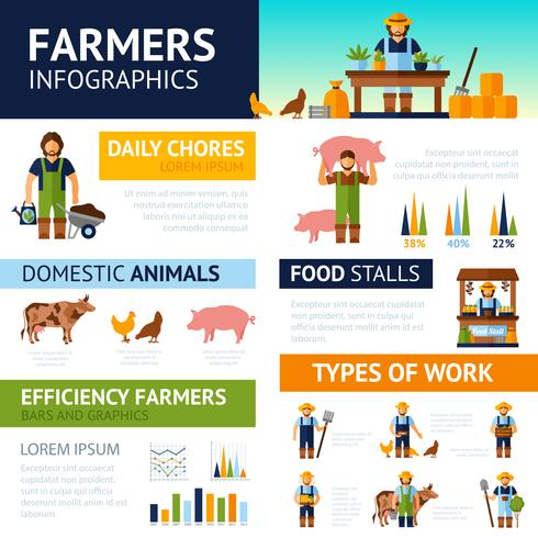 Boeren Infographics Set