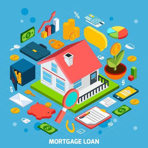 Concept de prêt hypothécaire
