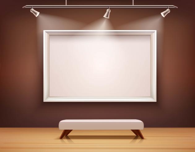 Gallery Interior Illustration