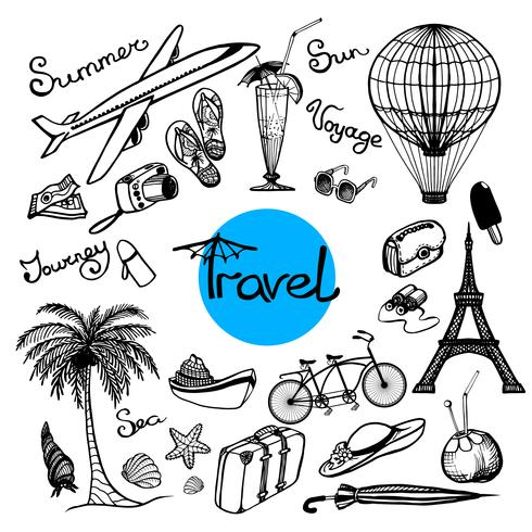 Doodle Set de viaje