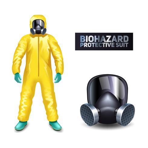 Terno de Proteção contra Risco Biológico