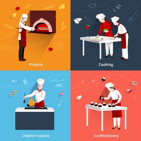 Ensemble plat de cuisine