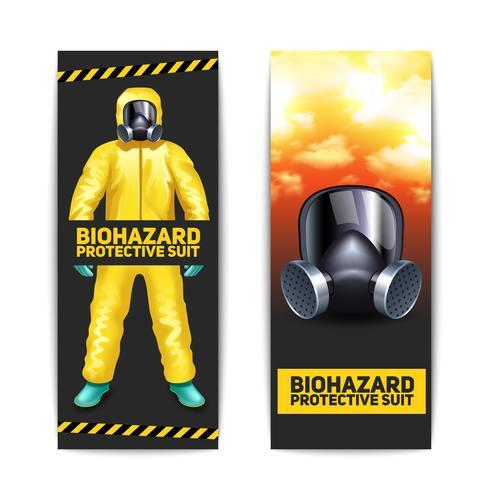 Set di banner Biohazard