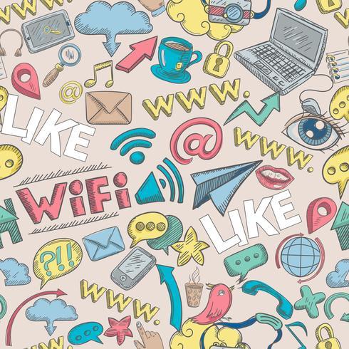 Doodle sociale senza soluzione di continuità
