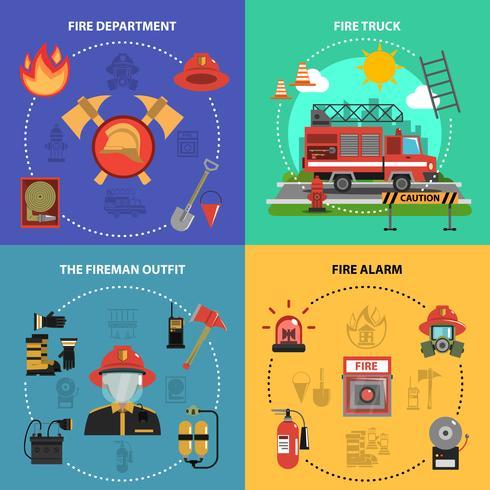 Set antincendio vettore