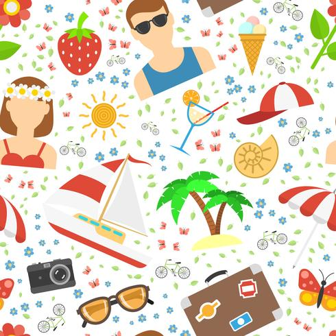 Summer and vacation background