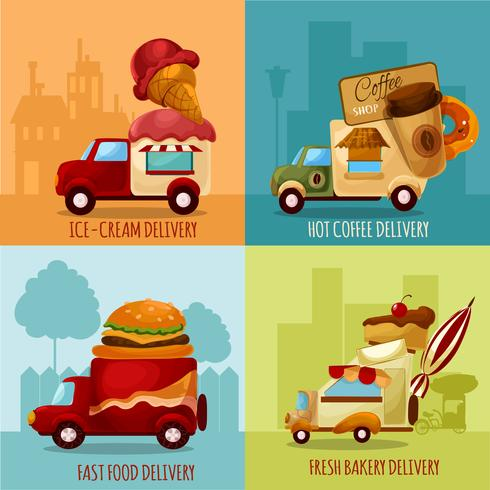 Mobile Food-Lieferung
