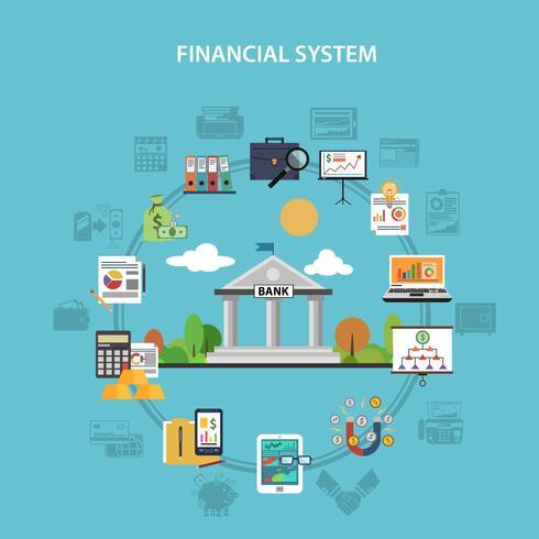 Conceito de finanças planas