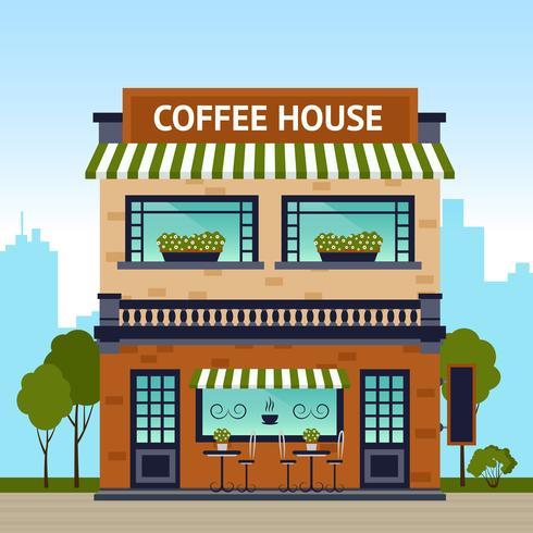 Koffiehuis Gebouw