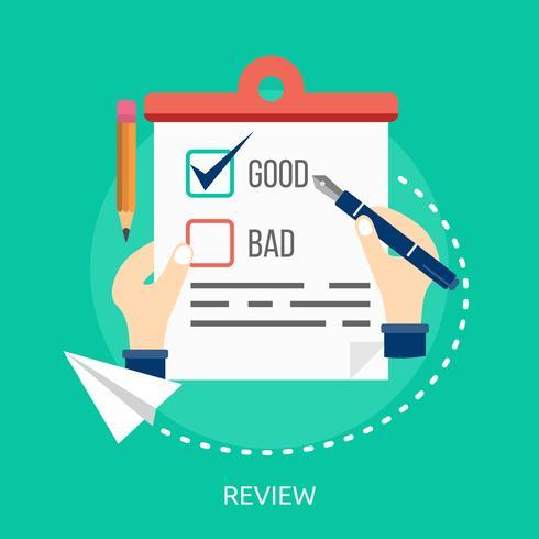Review Conceptual illustration Design