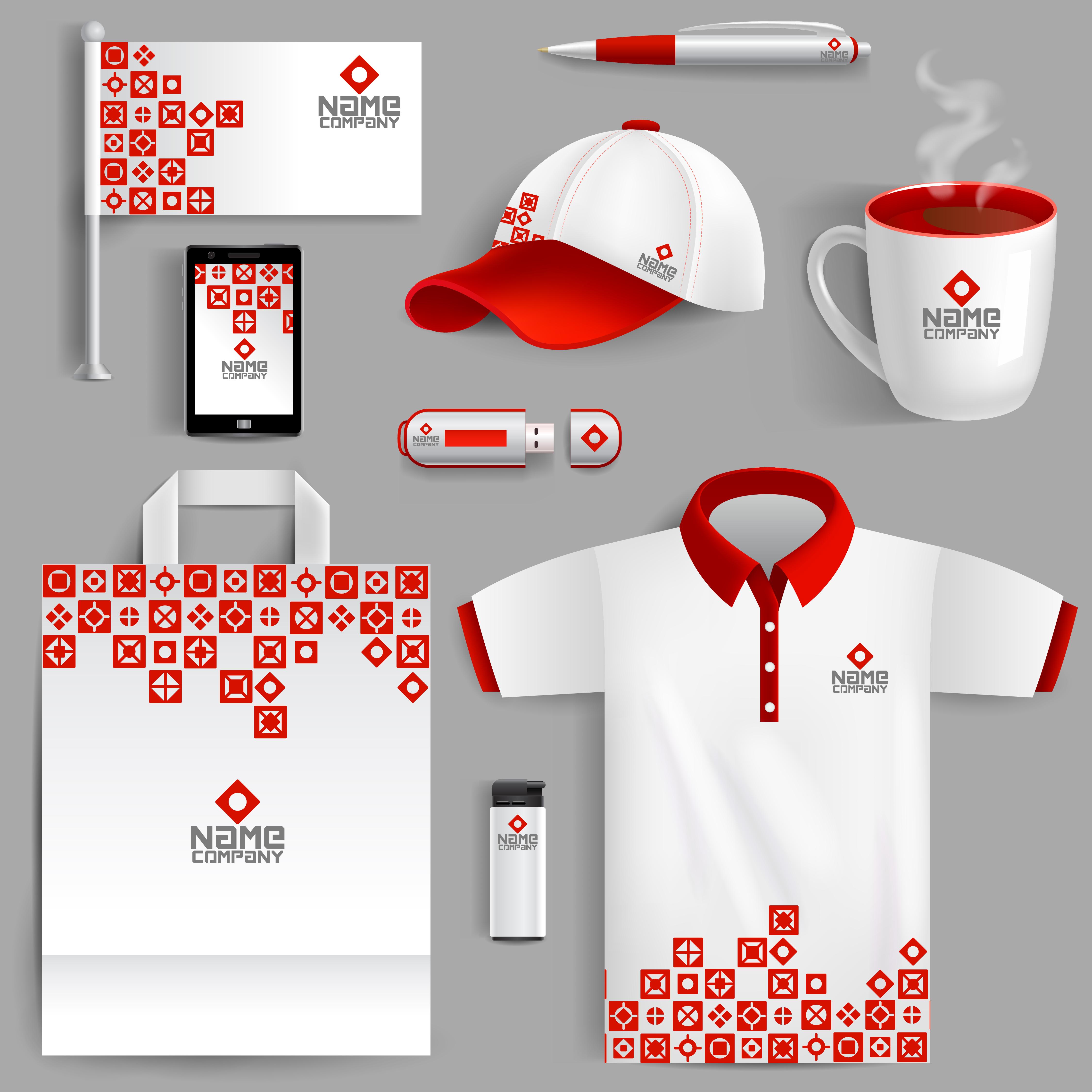 Corporate Identity Red 470033