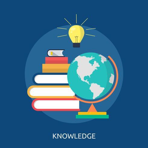 Knowledge Conceptual illustration Design