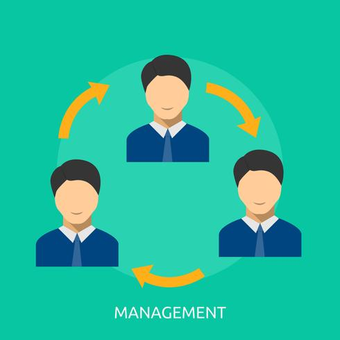 Management Conceptual illustration Design