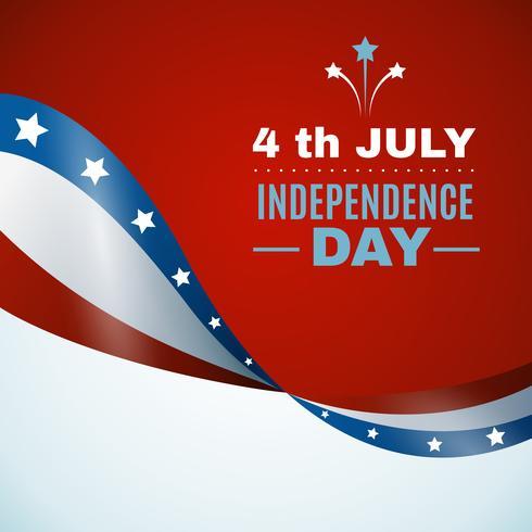 Fundo do dia da independência dos EUA