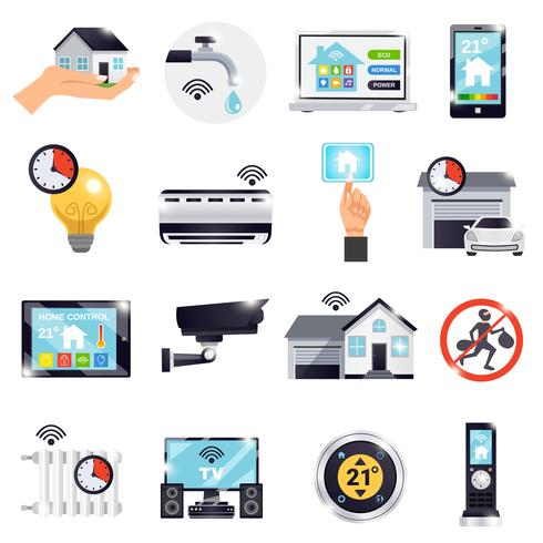Smart Home-Icon-Set