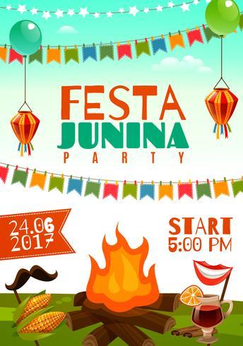 Poster Festa Junina