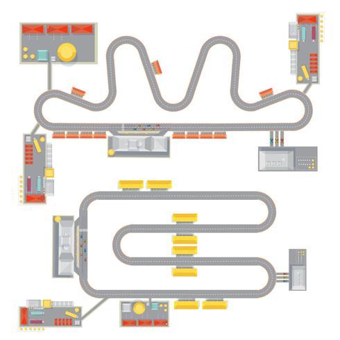 Jeu de circuit moteur
