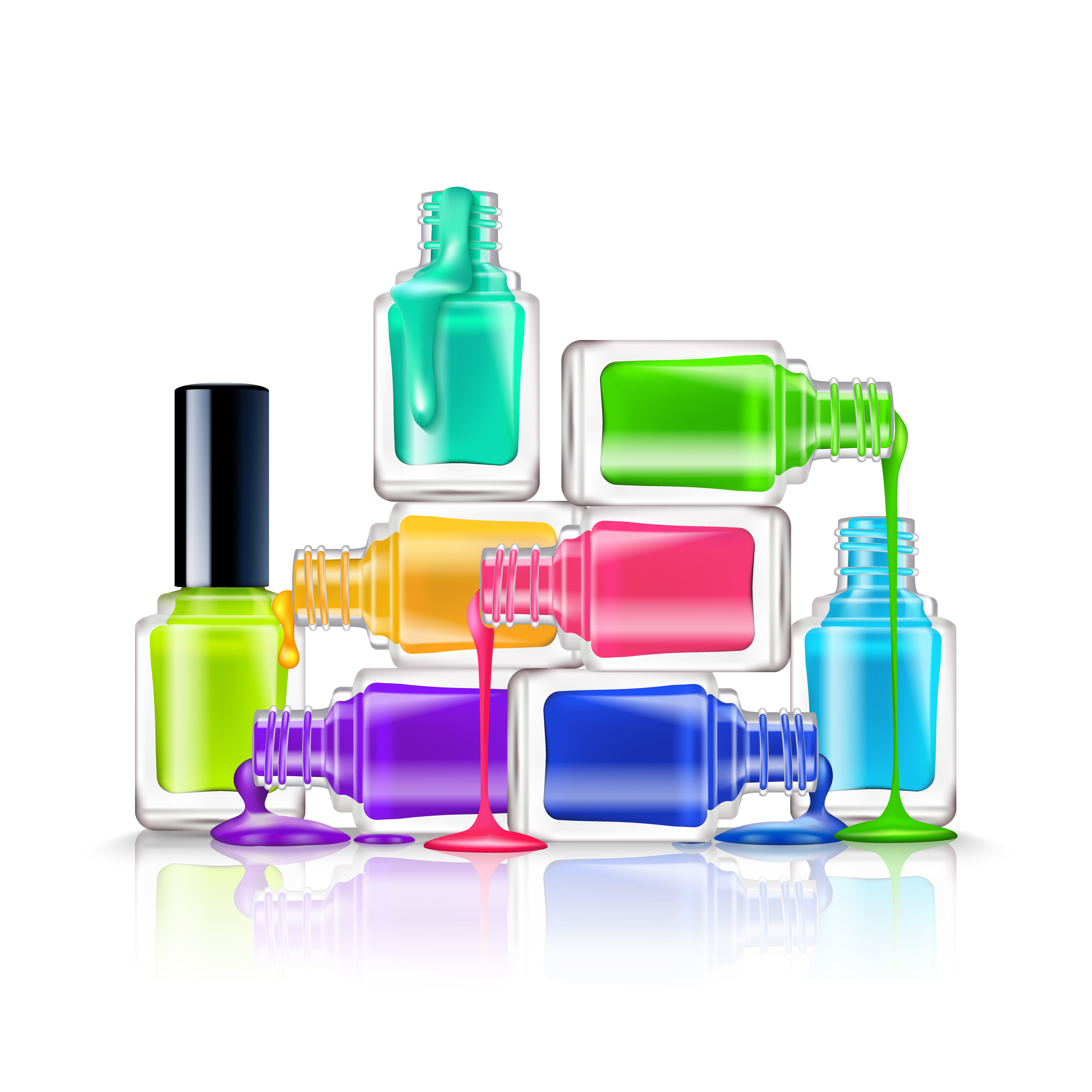 Nail Polish Composition Download Free Vector Art Stock Graphics Amp Images