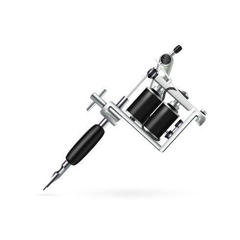 Realistisk Tattoo Machine