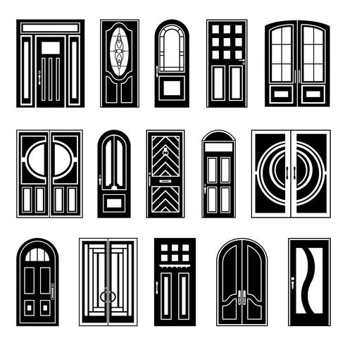 Collection de portes Black House Design