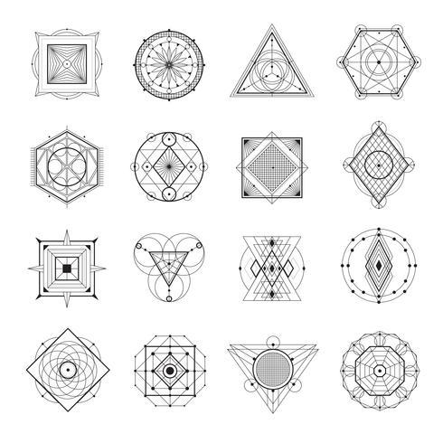 helig geometrisk uppsättning