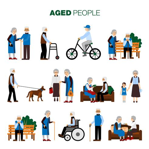 Alter Leute eingestellt
