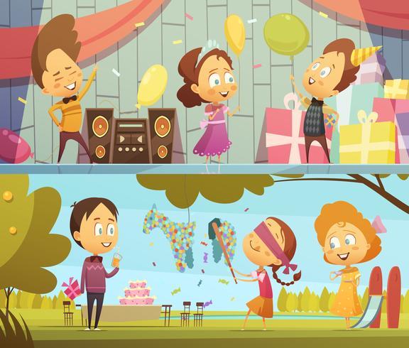 Banners de fiesta para niños