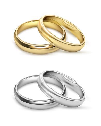 Oggetti simbolici di nozze