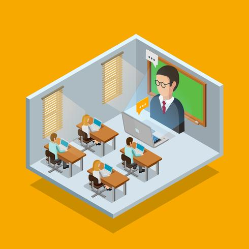 Online Learning Room Concept