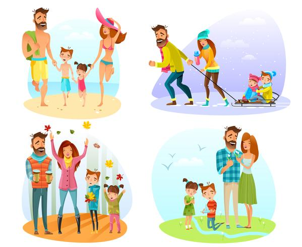 Saison Famille Set