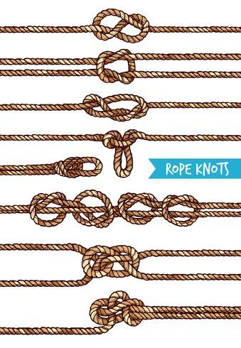 touw knopen set