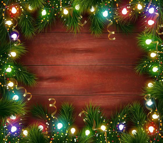 Plantilla de celebración festiva de Navidad vector