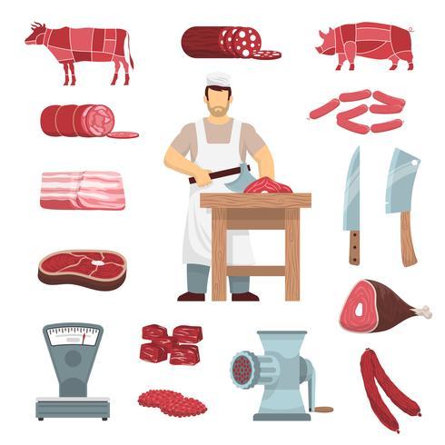 Meat Butcher Set