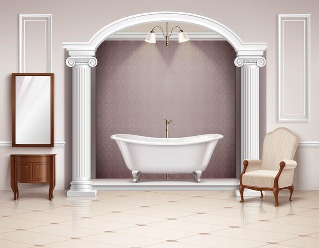 Design realista Interior de casa de banho