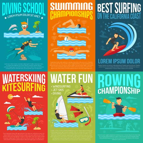 Water Sport Poster Collectie