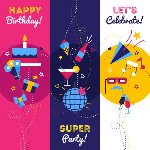 Vertical Party Banners