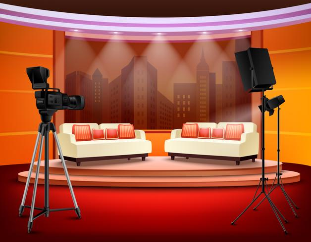 Talkshow Studio Interieur