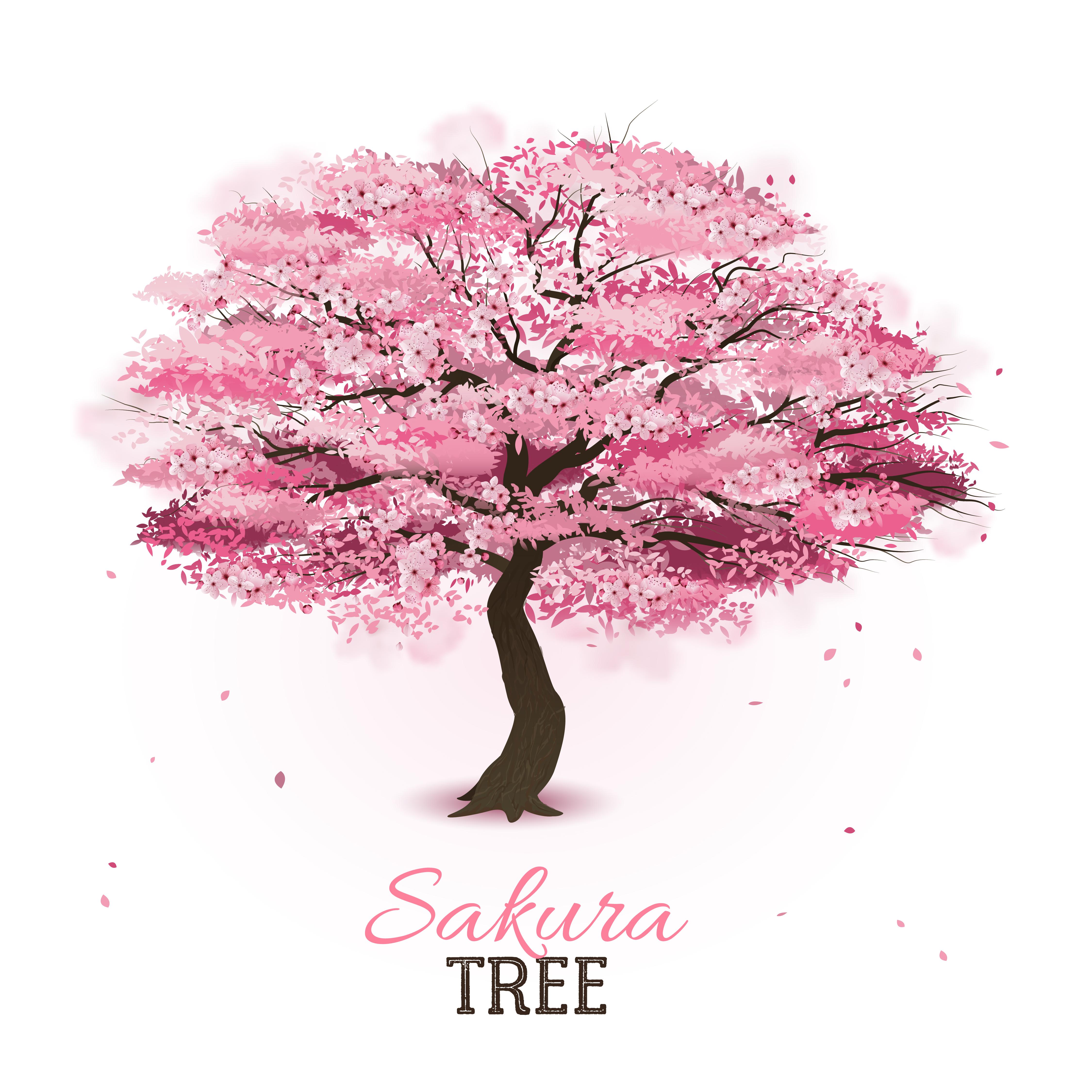 Arvore Sakura Realista Download Vetores Gratis Desenhos De