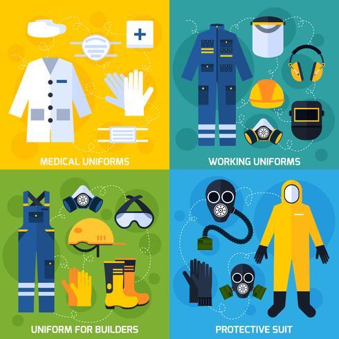 Skyddande enhetlig utrustning