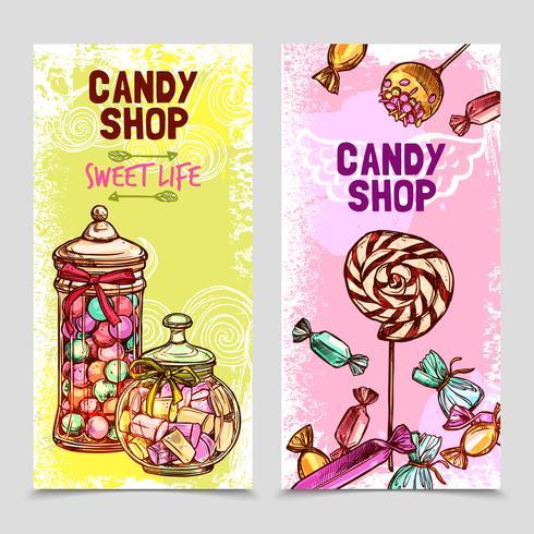 Süßes Banner-Set