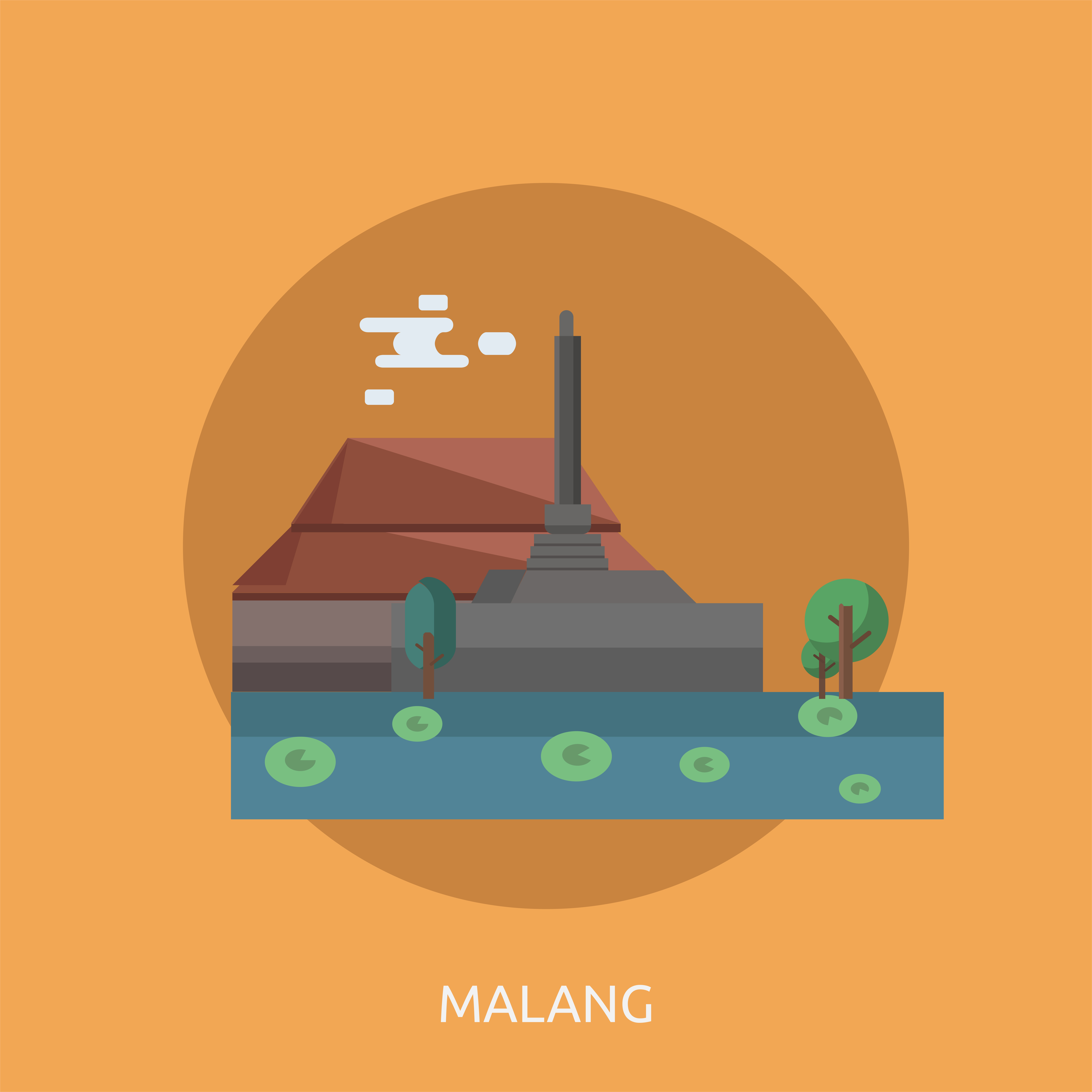 Malang Conceptual Illustration Design Download Free Vectors Clipart Graphics Vector Art