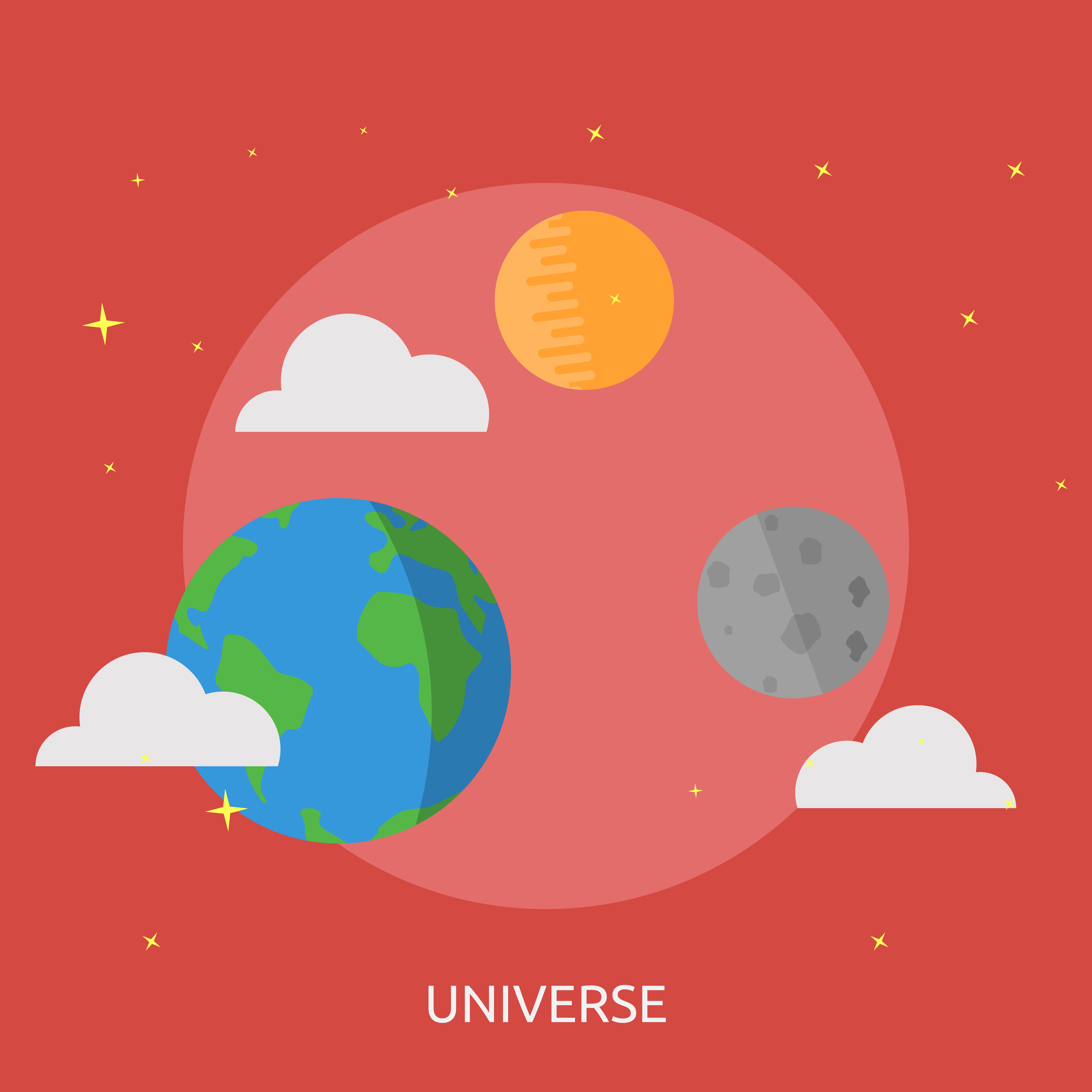 Universe Conceptual Illustration Design
